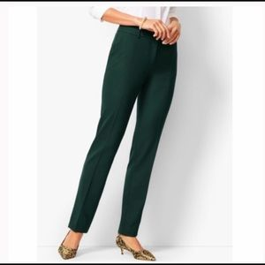 Talbots green Hampshire ankle pant. Size 12